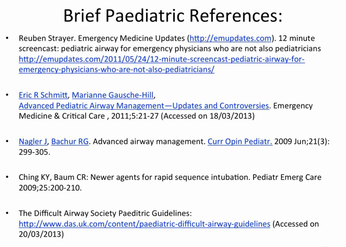 Slides and Resources from Dr  Brainard's Essential Emergency