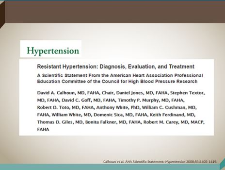 hypertension research paper Three essays on hypertension the rand corporation is a nonprofit research organization providing objective analysis in this paper.