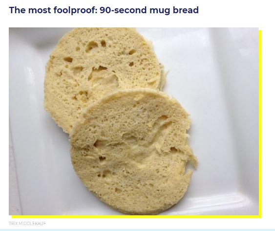 5 Great Keto Bread Recipes – Links From The Huttington Post